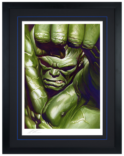 Alex Ross Art The Omega Hulk Art Print