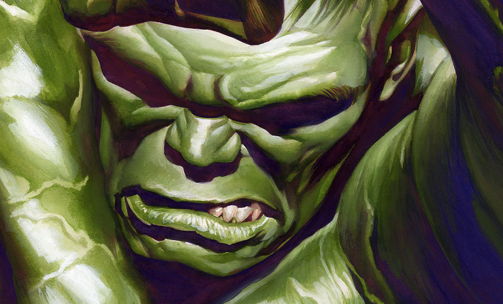 Gallery Feature Image of The Omega Hulk Art Print - Click to open image gallery