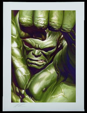 The Omega Hulk Art Print