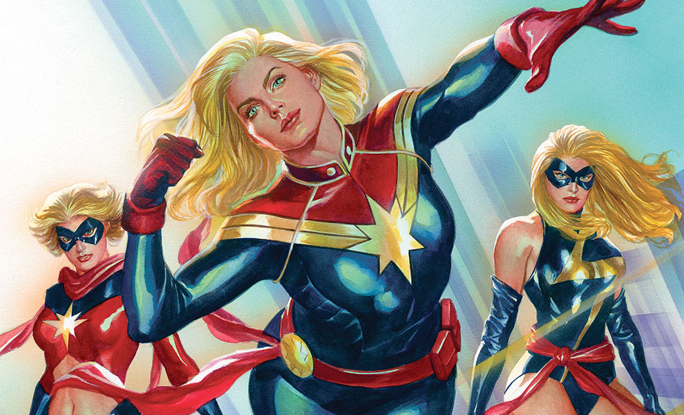 Gallery Feature Image of Captain Marvel #1 Art Print - Click to open image gallery