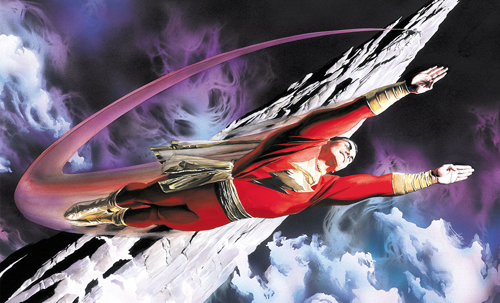 Gallery Feature Image of Shazam! The World's Mightiest Mortal Art Print - Click to open image gallery