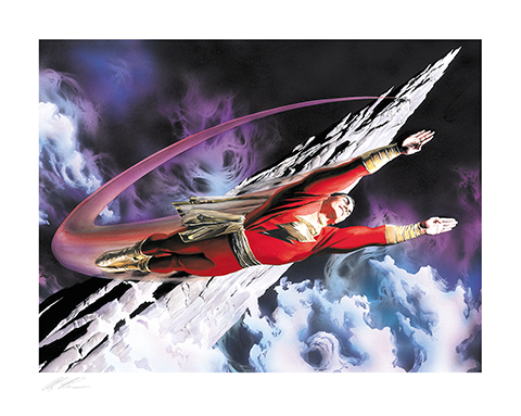 Alex Ross Art Shazam! The World's Mightiest Mortal Art Print