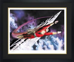 Shazam! The World's Mightiest Mortal Art Print