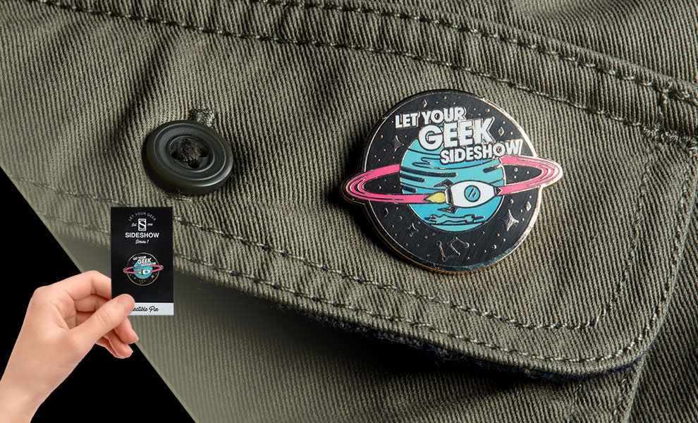 Gallery Feature Image of Let Your Geek Sideshow Spaceship Collectible Pin - Click to open image gallery