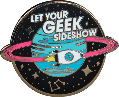 Sideshow Collectibles Let Your Geek Sideshow Spaceship Collectible Pin