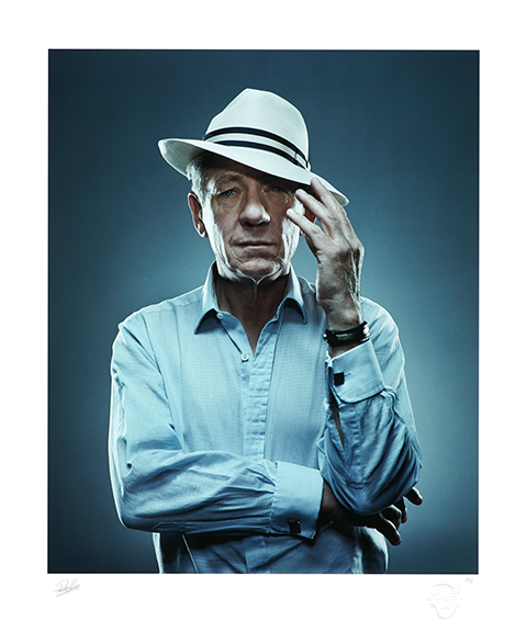Sideshow Collectibles Sir Ian McKellen Art Print