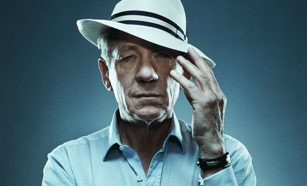 Gallery Feature Image of Sir Ian McKellen Art Print - Click to open image gallery
