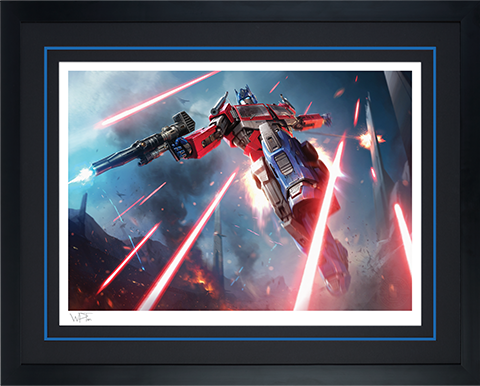 Sideshow Collectibles Optimus Prime: More Than Meets The Eye Art Print