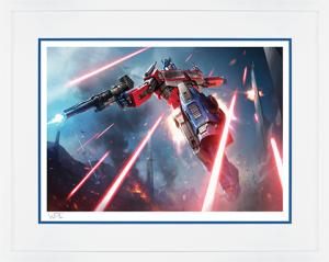 Optimus Prime: More Than Meets The Eye Art Print