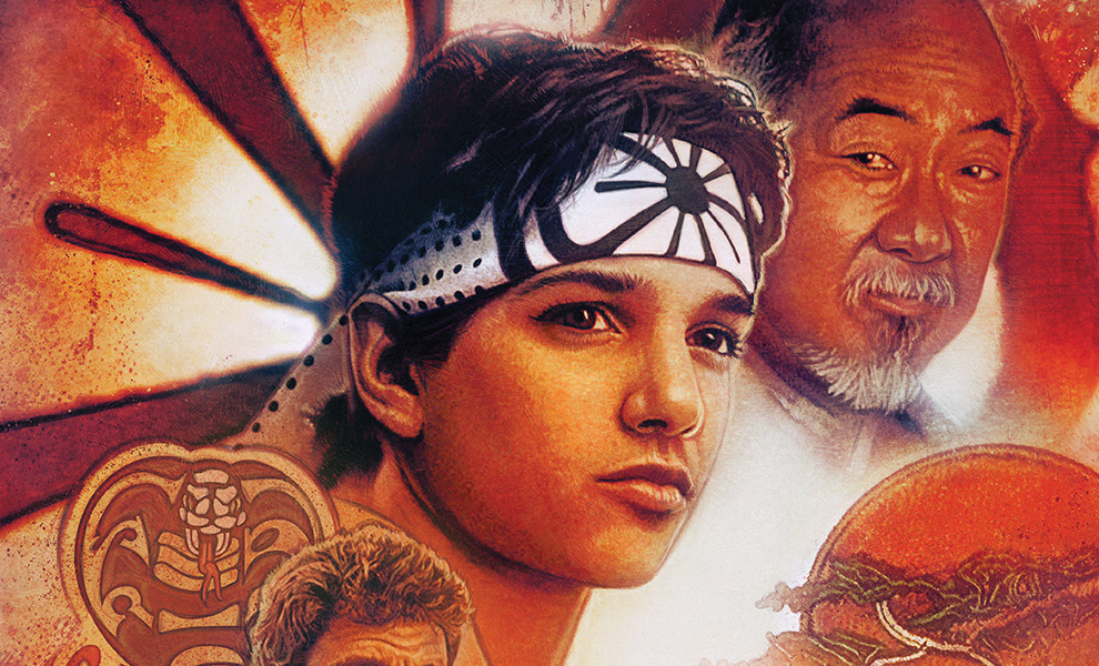 Gallery Feature Image of Karate Kid 35th Anniversary Art Print - Click to open image gallery