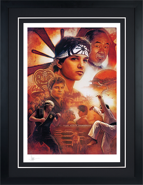 Sideshow Collectibles Karate Kid 35th Anniversary Art Print
