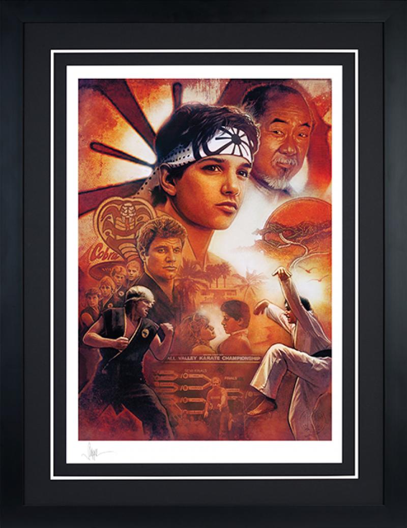 Karate Kid 35th Anniversary Art Print -