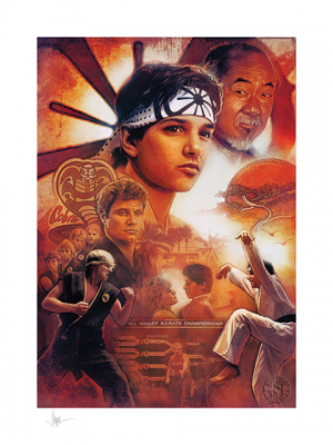 Karate Kid 35th Anniversary Art Print