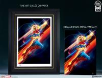 Gallery Image of Higher, Further, Faster HD Aluminum Metal Variant Art Print