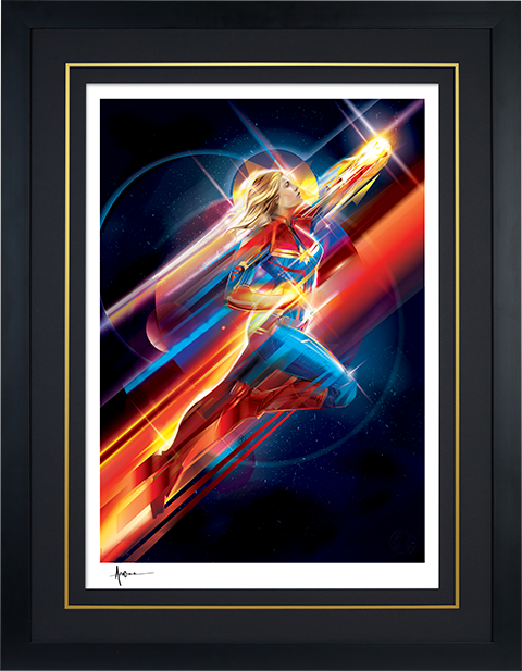 Sideshow Collectibles Higher, Further, Faster Art Print