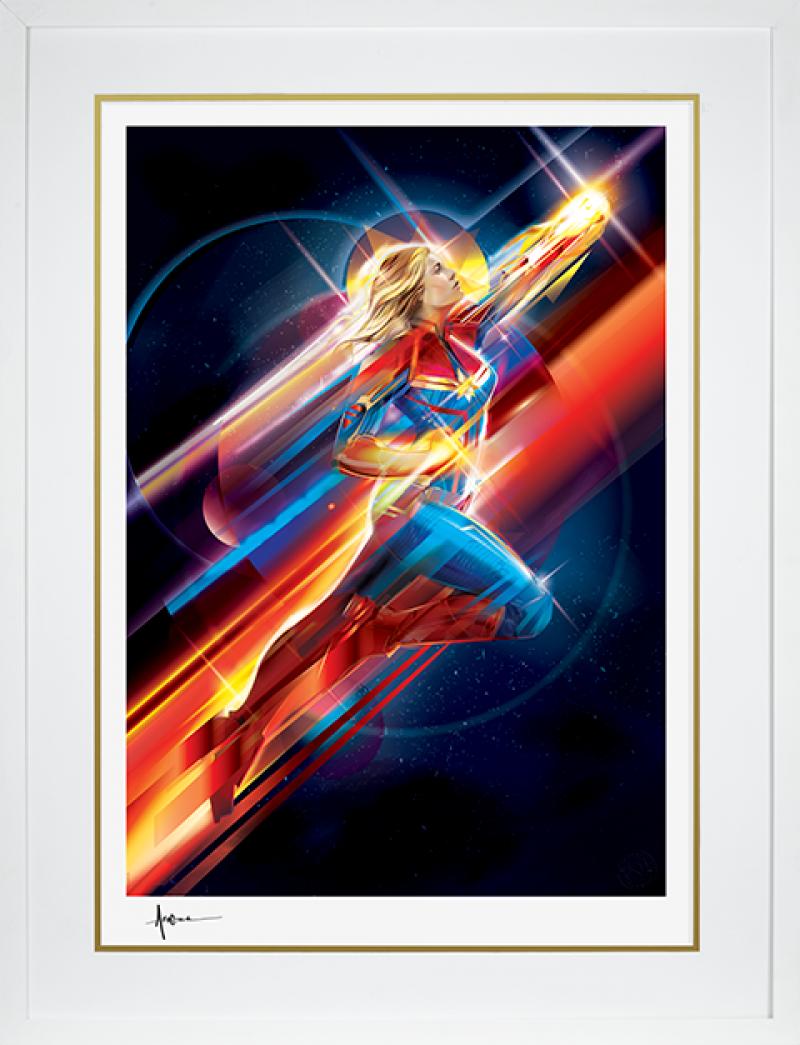 Higher, Further, Faster Art Print -