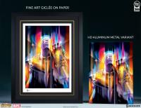 Gallery Image of Thanos Infinity War HD Aluminum Metal Variant Art Print