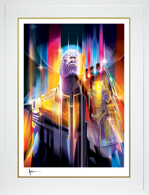 Thanos Infinity War Art Print