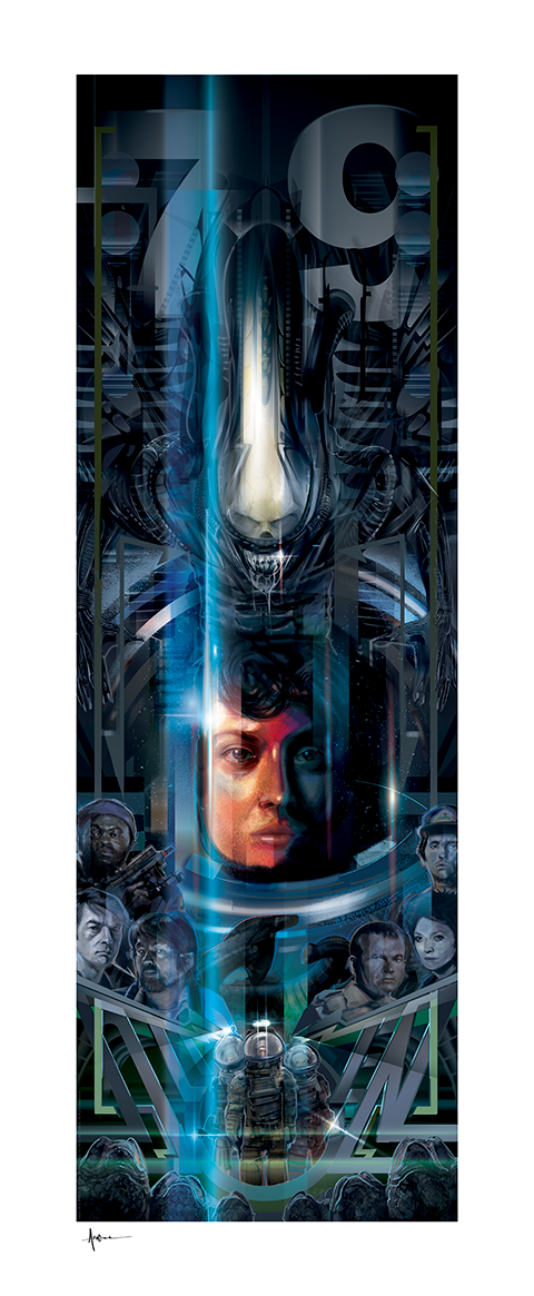 Sideshow Collectibles Alien 40th Anniversary Art Print