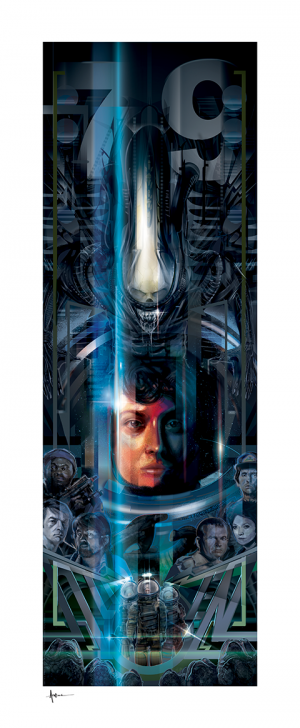 Alien 40th Anniversary Art Print