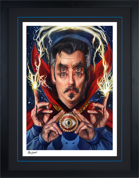 Sideshow Collectibles Doctor Strange: Open Your Eyes Art Print