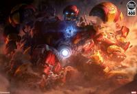 Gallery Image of Hulkbuster Art Print