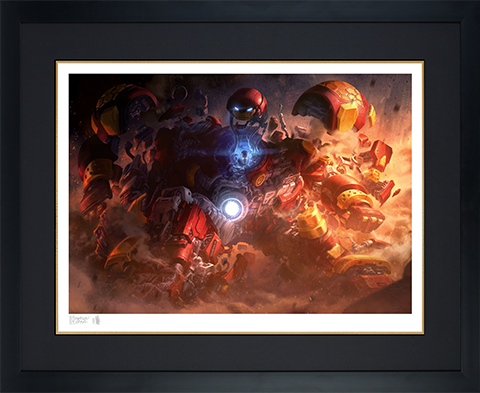 Sideshow Collectibles Hulkbuster Art Print