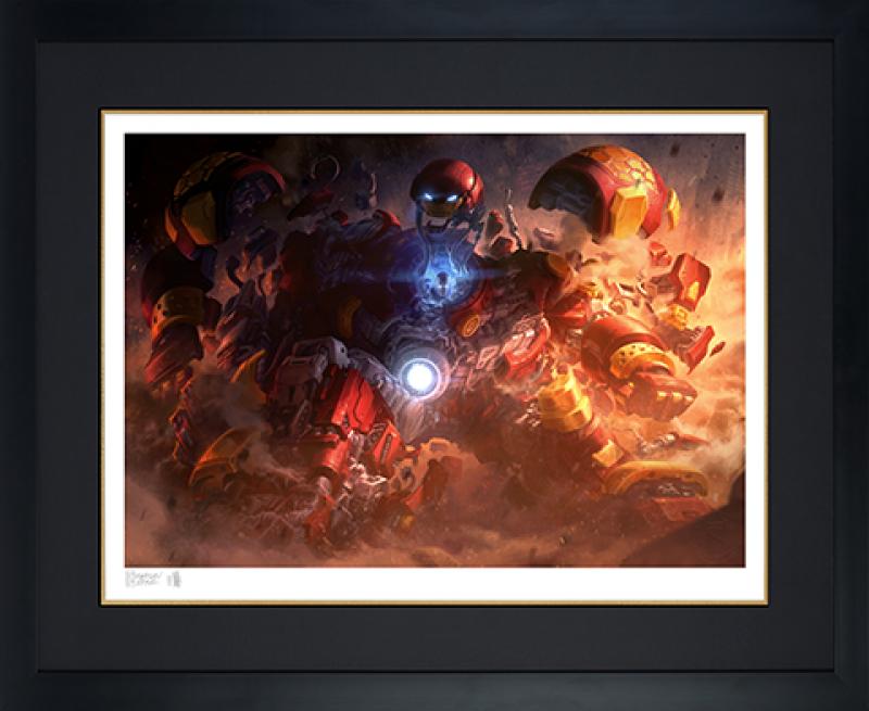 Hulkbuster Art Print -