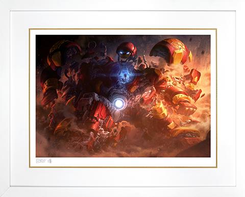 Sideshow Collectibles Hulkbuster Art Print