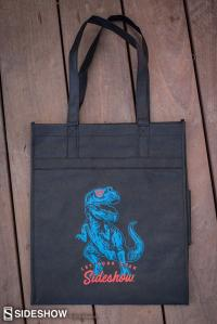 Gallery Image of Dino Let your Geek Sideshow Tote Apparel