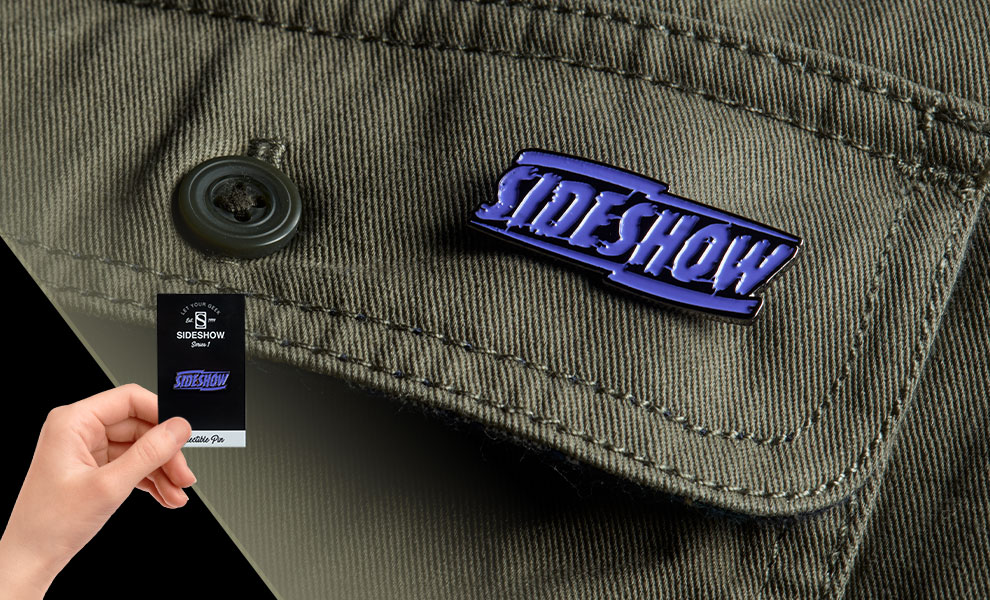Gallery Feature Image of Sideshow Purple Lightning Collectible Pin - Click to open image gallery