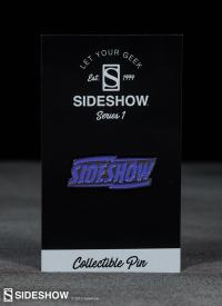 Gallery Image of Sideshow Purple Lightning Collectible Pin
