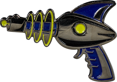 Sideshow Collectibles Sideshow Raygun Collectible Pin