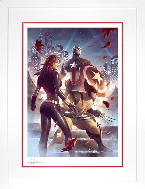 Sideshow Collectibles Uncanny X-Men Art Print