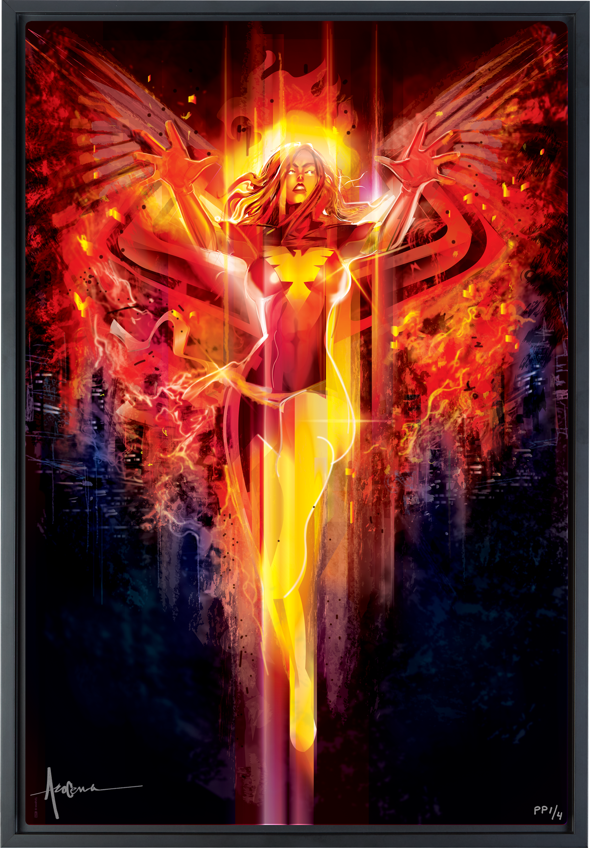 Sideshow Collectibles Dark Phoenix Art Print