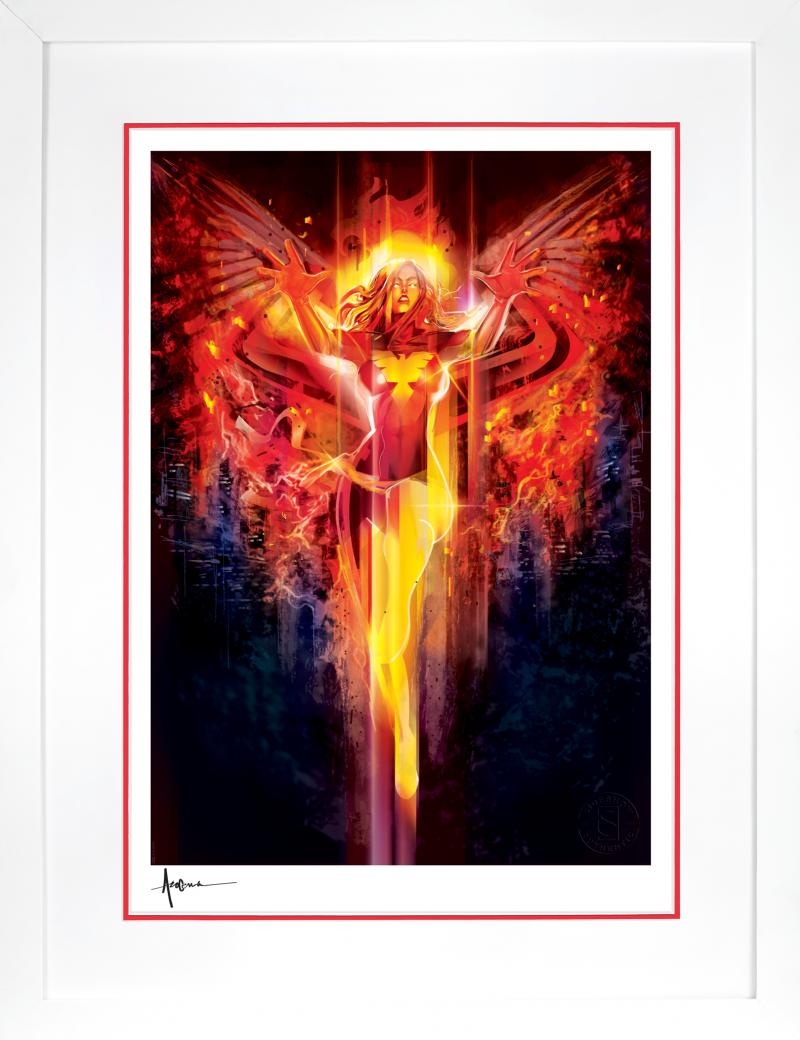 Dark Phoenix Art Print -