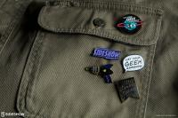 Gallery Image of Let Your Geek Sideshow Word Bubble Collectible Pin
