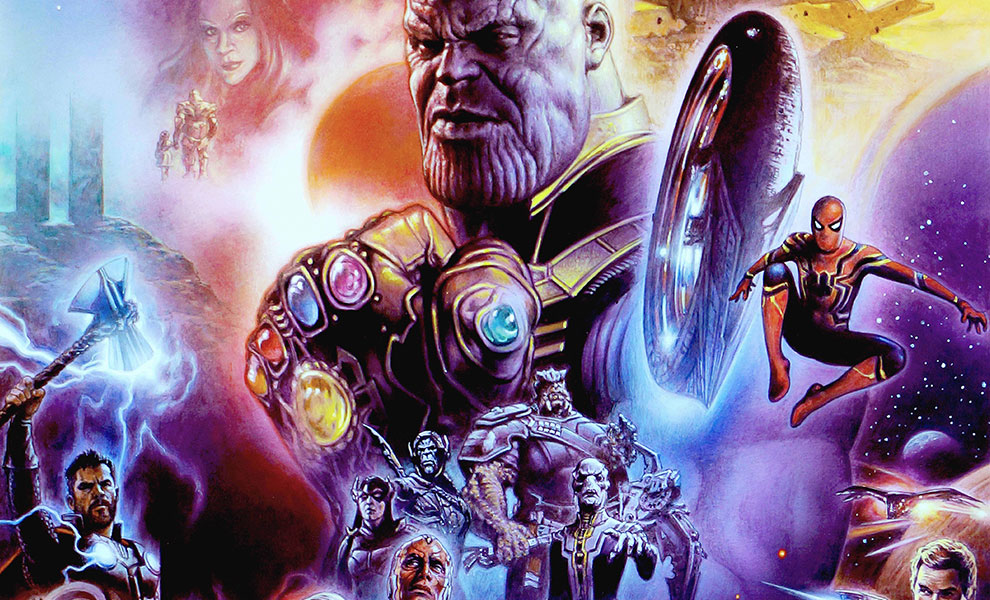 Gallery Feature Image of Avengers: Infinity War Art Print - Click to open image gallery