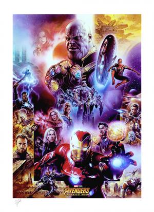 Avengers: Infinity War Art Print