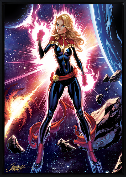 Sideshow Collectibles Captain Marvel Art Print