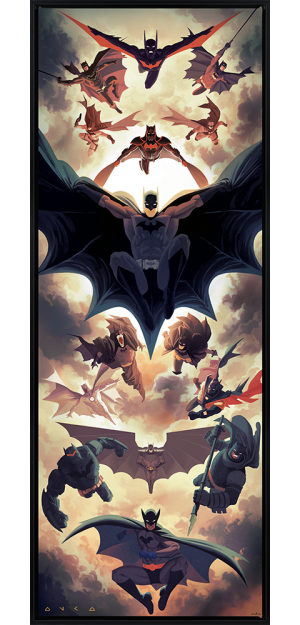 Batman Legacy Art Print
