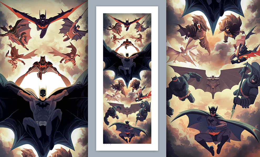 Gallery Feature Image of Batman Legacy Art Print - Click to open image gallery