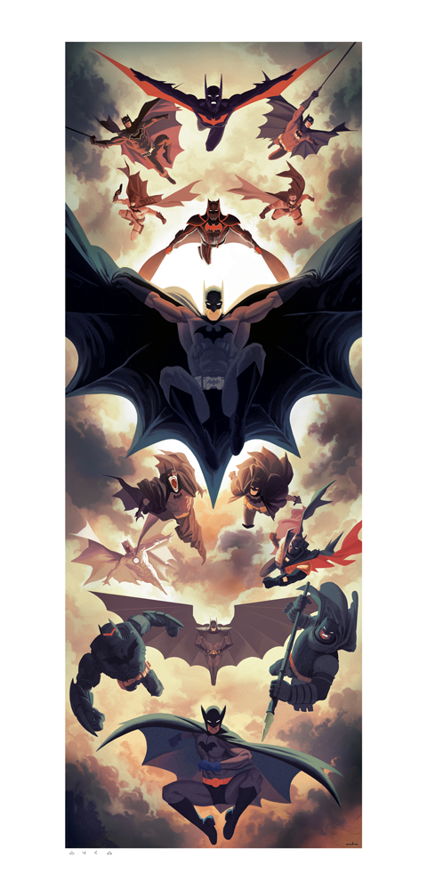 Sideshow Collectibles Batman Legacy Art Print