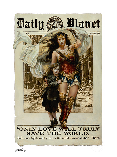 Sideshow Collectibles Only Love Art Print