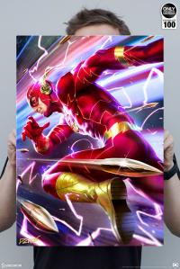 Gallery Image of The Flash HD Aluminum Metal Variant Art Print