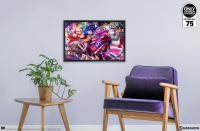 Gallery Image of Tokyo Harley Quinn HD Aluminum Metal Variant Art Print