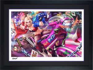 Tokyo Harley Quinn Art Print