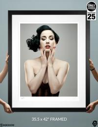 Gallery Image of Dita Von Teese Art Print