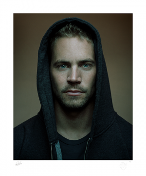 Paul Walker Art Print
