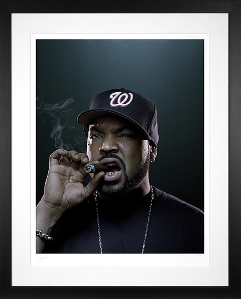 Ice Cube Art Print -
